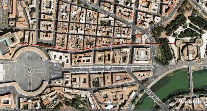 Il Passetto… la puerta de escape del Vaticano… | Serch's